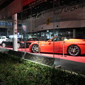 写真: 夜のスーパーカー
