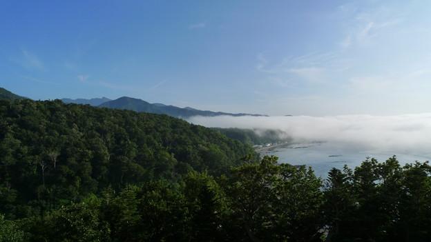 ウトロの霧
