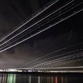 写真: 夜空のラッシュ