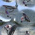 水上バイク「宙返り」