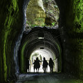 二階建てトンネル