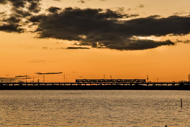 夕焼け列車