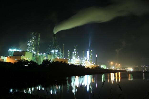 室蘭・工場夜景2 (1400x933)