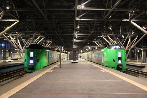 JR旭川駅にて (1)