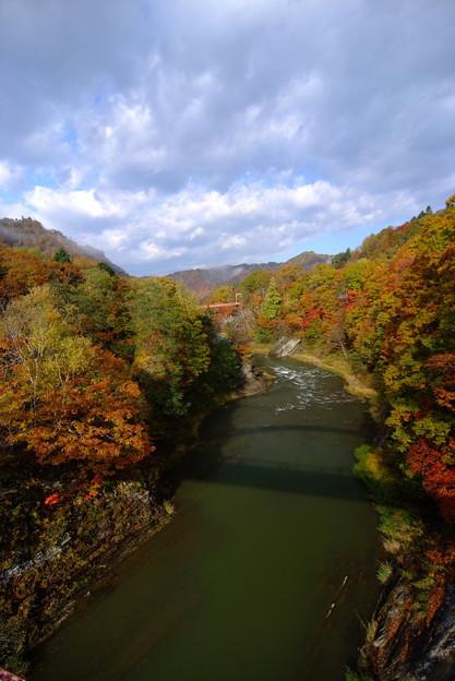 北海道の秋2017 夕張滝上公園1
