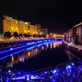 写真: 小樽運河 冬のイルミネーション2