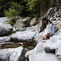 写真: Water cleanliness and coldness