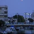 R0025731 - 昇る満月@呑川