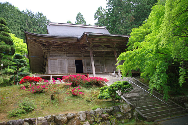 萬徳寺本堂