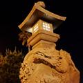 写真: 江ノ島の宵も深まるのでした