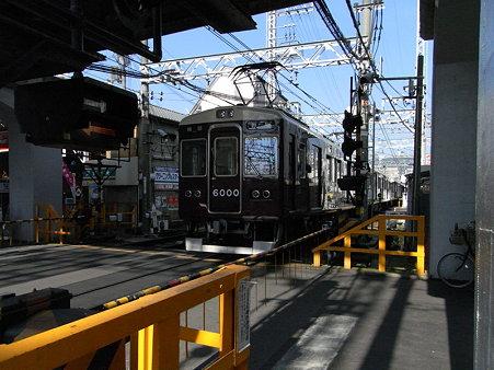 阪急電車(石橋駅)