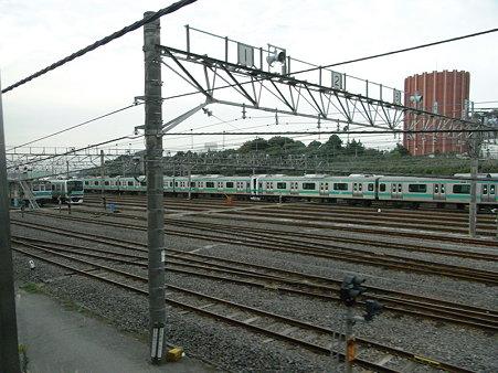 常磐線の車庫2