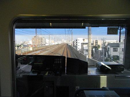 E231系常磐線の車窓