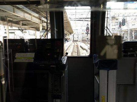 E217系運転台(横浜駅)