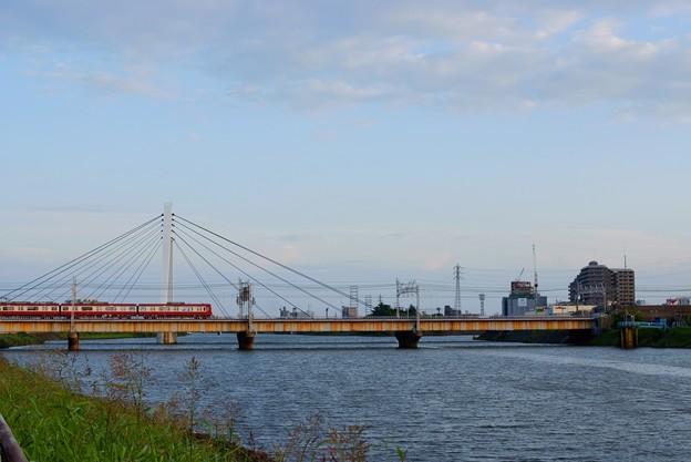 写真: 京成電鉄 中川橋梁