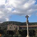 写真: 青い空と十字架 <orange-sky>