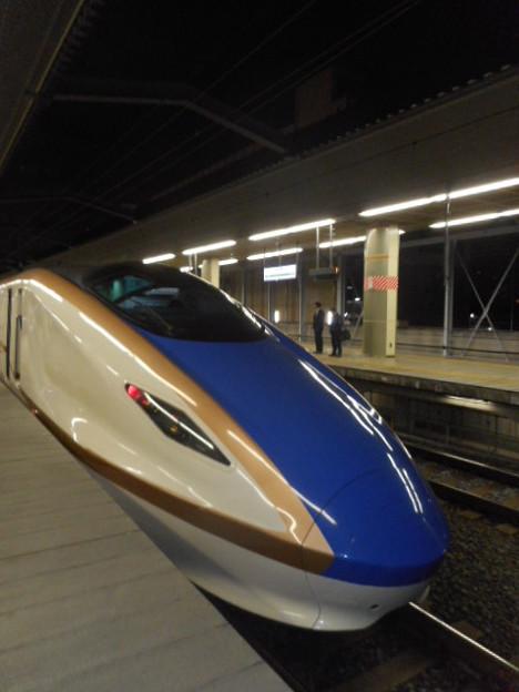 E7系F?編成(12両編成)東京始発あさま623号長野行き