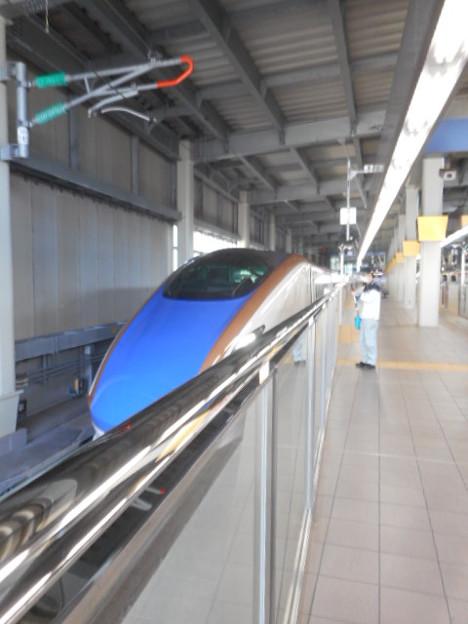 W7系W編成(12両編成)金沢始発つるぎ716号富山行き-0