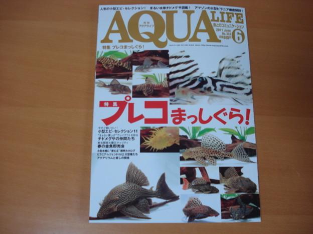 20110519 月刊誌アクアライフ