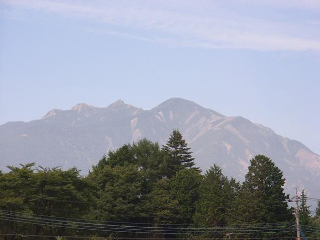 20090823中央高速から八ヶ岳