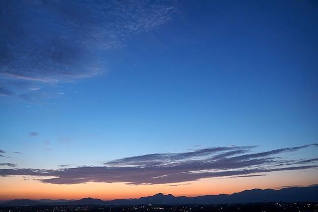 写真: 明けの明星?