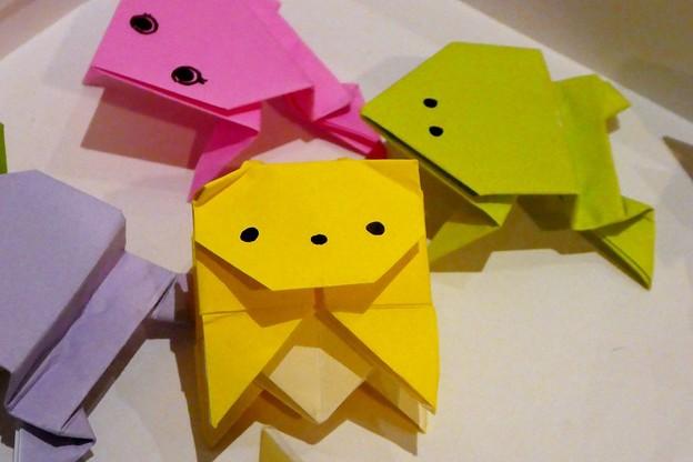 写真: 折り紙