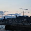 写真: アレイより護衛艦