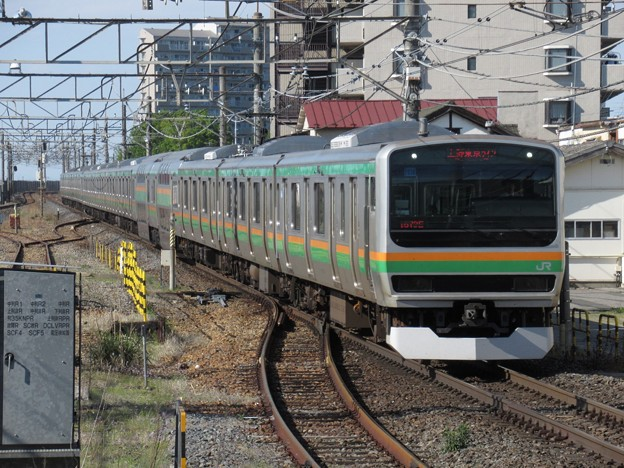 宇都宮線・上野東京ラインE231系1000番台 U538+U4編成