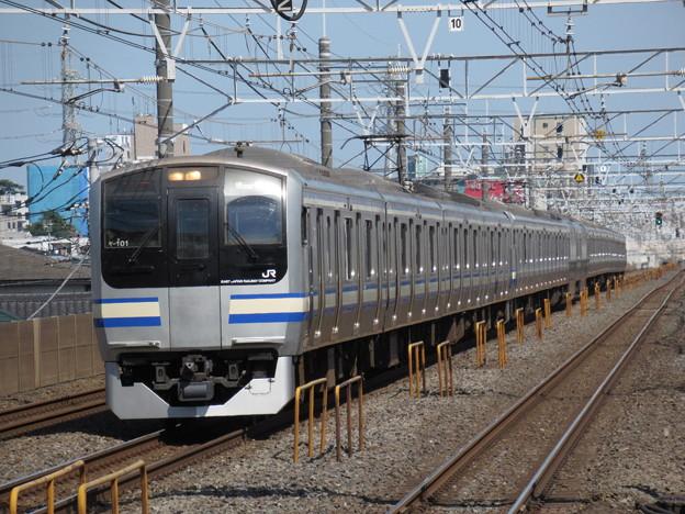 横須賀・総武快速線E217系 Y-101+Y-39編成