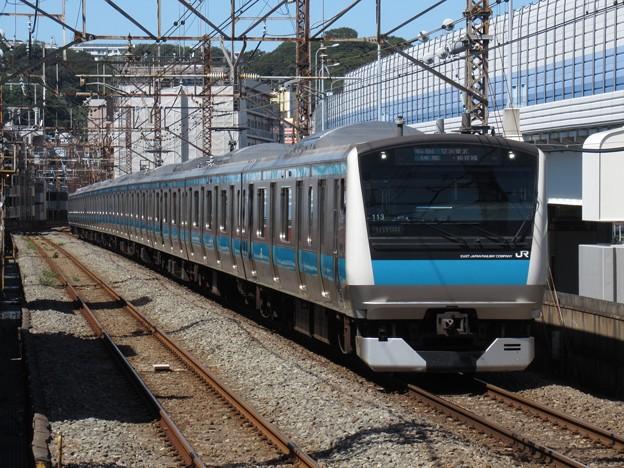 京浜東北・根岸線E233系1000番台 サイ113編成