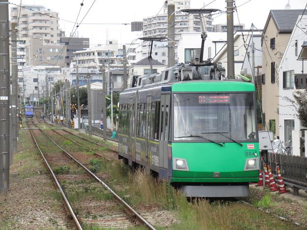 世田谷線300系 304F【住友不動産広告ラッピング】