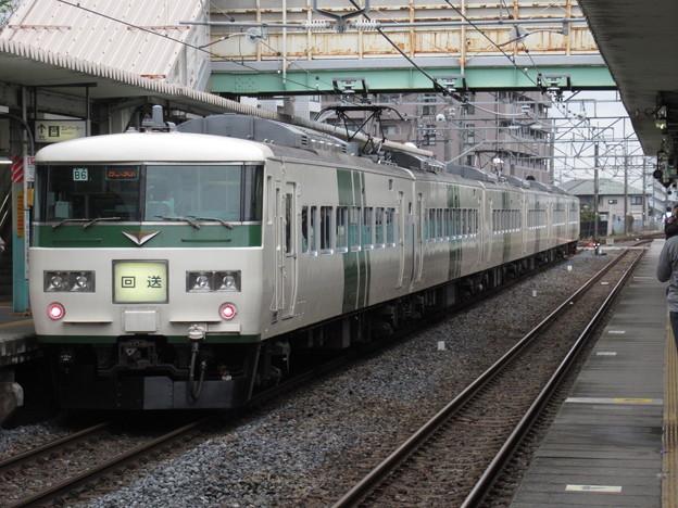 回送列車185系200番台 B6編成