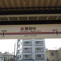 Photos: #KO23 東府中駅 駅名標【下り】