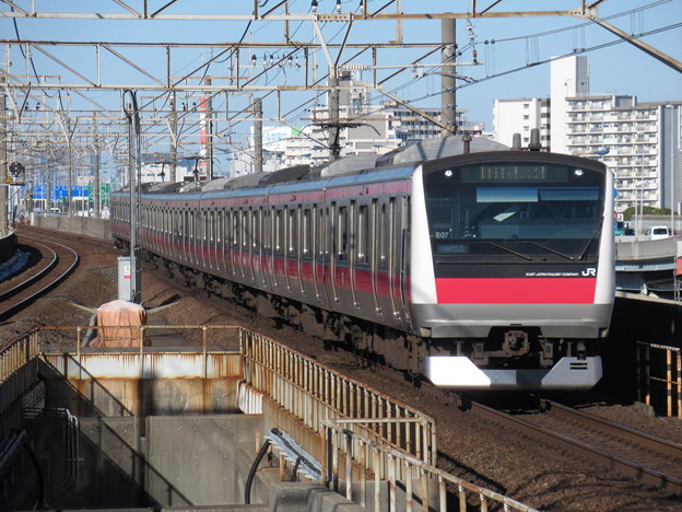 京葉線E233系5000番台 ケヨ507編成