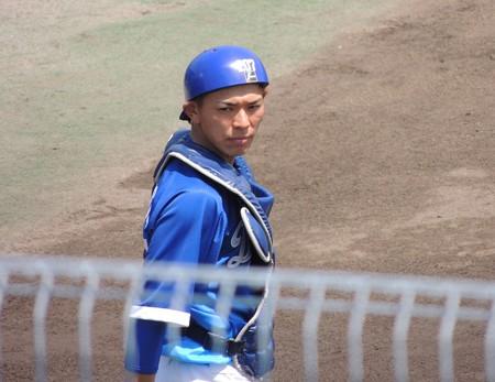 藤吉優捕手。