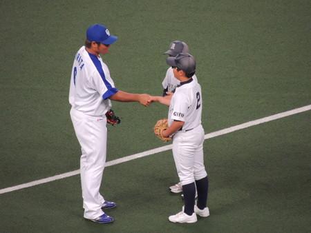 5/5(金) ファミリーシリーズ 始球式はSKE48の松井珠理奈さん シャオロンの撮影会もあったし。