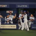 写真: 3得点の藤井さん。