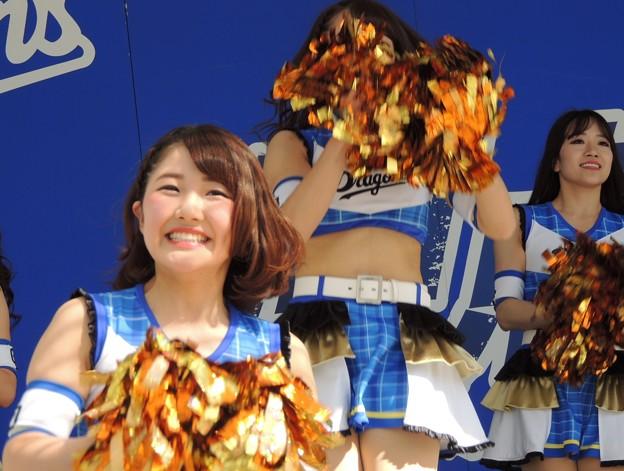 写真: 荒井さんと小木曽さん。