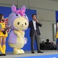 写真: 中日新聞のえらい人挨拶。