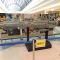 写真: 宇宙戦艦ヤマトPR展示。