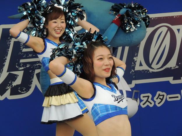 写真: 中島さんと三浦さん。