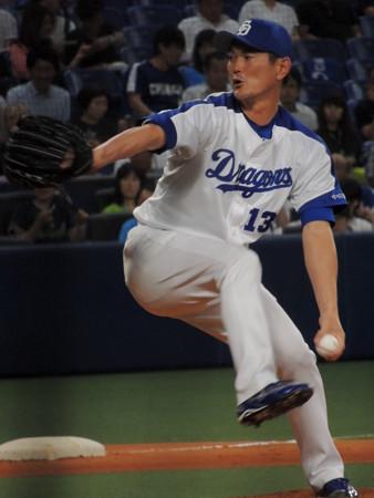 岩瀬仁紀選手。