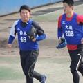 写真: 鈴木博志選手&大藏彰人選手。