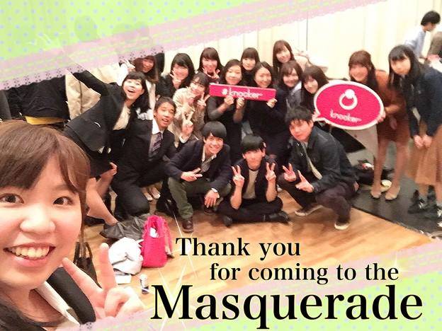 写真: マスカレ最高!