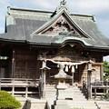 写真: 小須戸諏訪神社