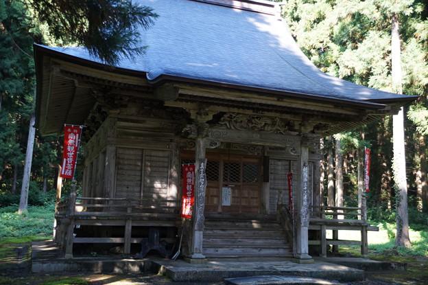 最明寺 観音堂
