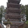 善宝寺 五重塔