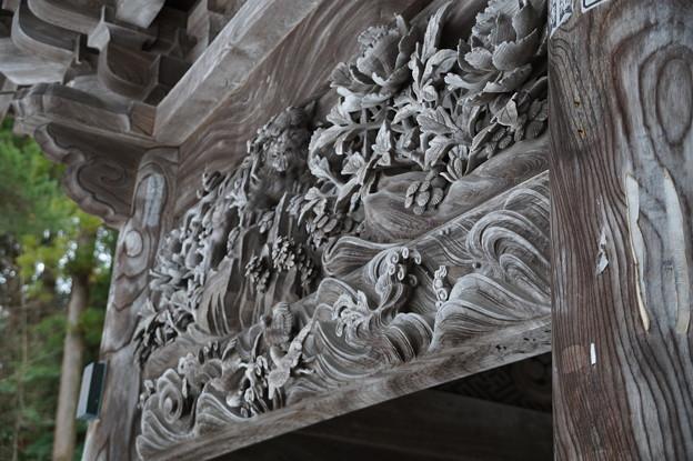 善宝寺 彫刻