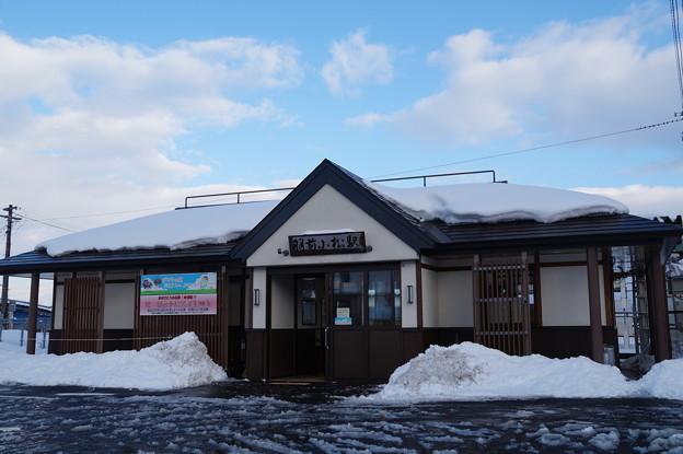米坂線・羽前小松駅
