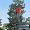 伏見稲荷・楼門(狛狐)2